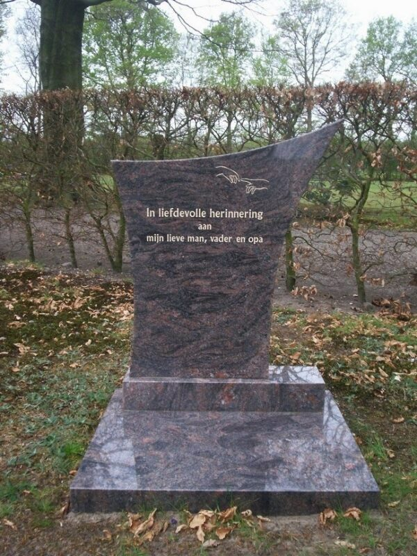 Urn monument Gorredijk