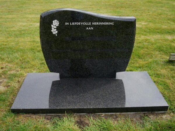 Grafsteen Leek