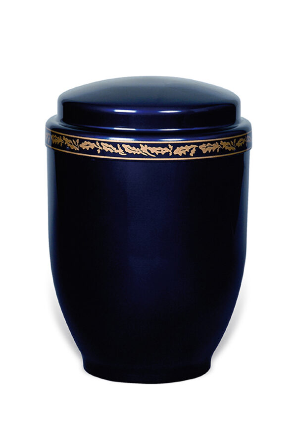 Sier urn 28 van metaal