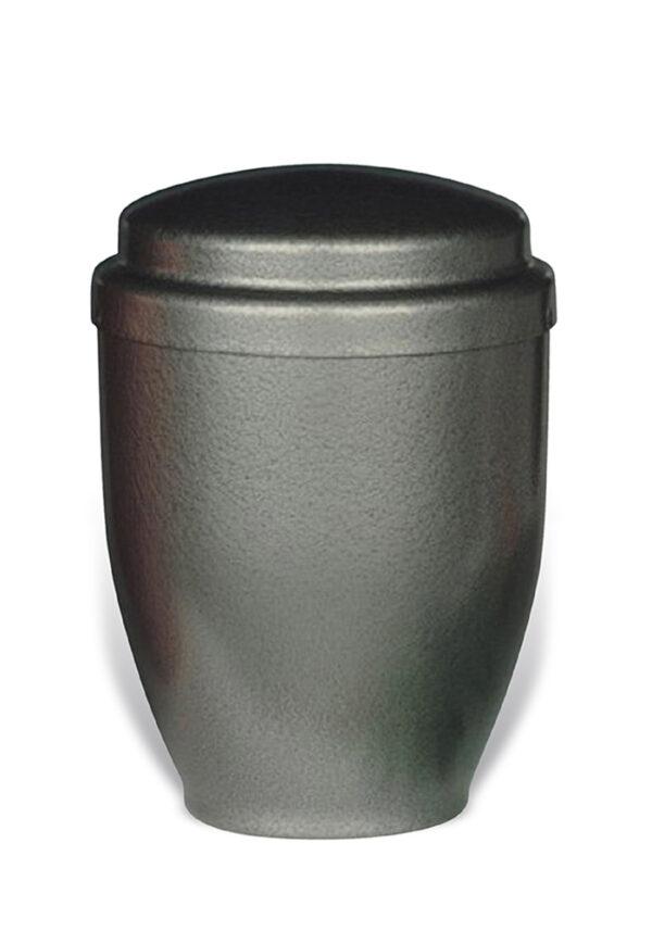 grijze sier urn 31 van metaal