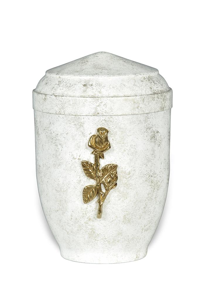 sier urn 38 met roos