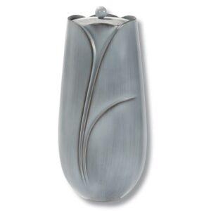 witte bronzen urn