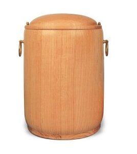 houten urn