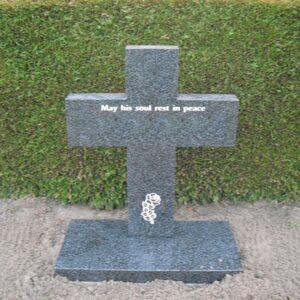grafsteen met kruis