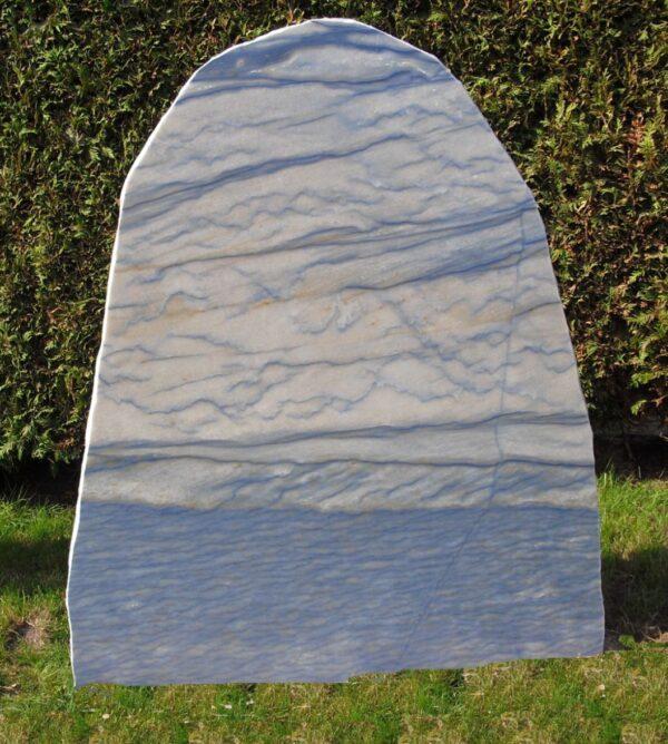 azul blauw grafsteen 100cm x 80cm