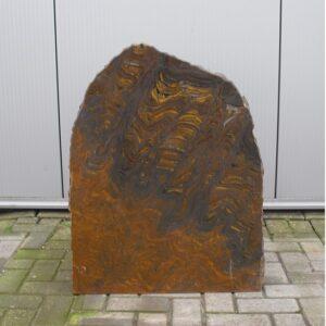 jaspis geel ruwe grafsteen