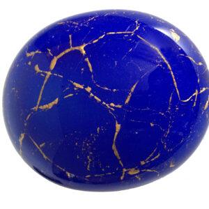 urn kei blauw goud