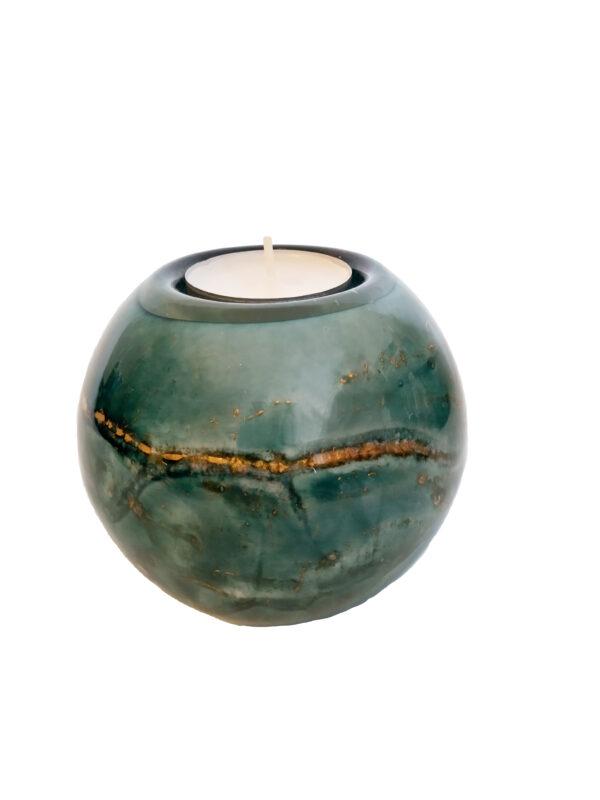 urn glas 9 cm 200 ml als waxinelichtje houder
