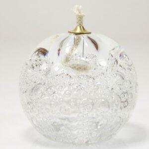 urn glas olielampje wit